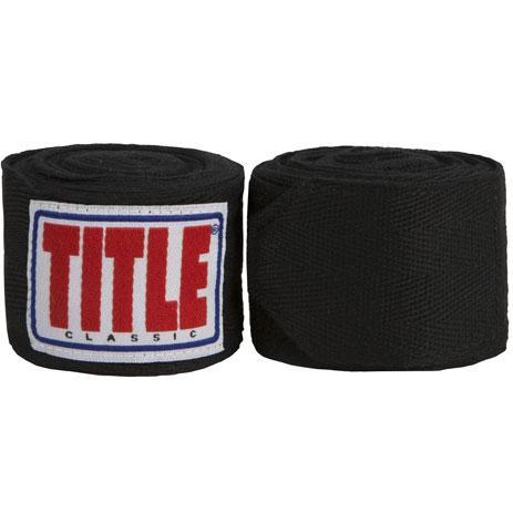 Бинты для бокса Title Classic Traditional Weave (4,6м)