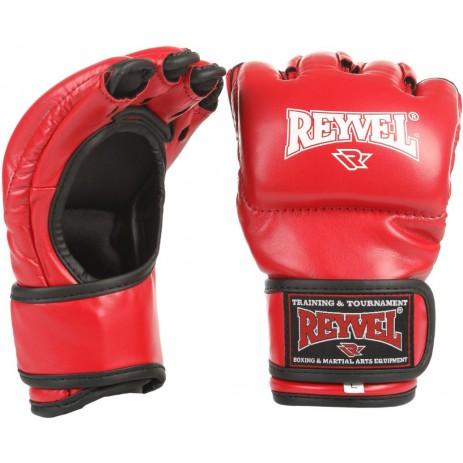 Боевые перчатки ММА Reyvel (винил)
