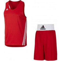 Форма для бокса Adidas Base Punch (красный, V14119/14110)
