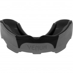 Боксерская капа Venum Predator Grey Black
