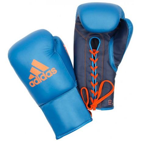 Профессиональные боксерские перчатки Adidas Glory (синий)