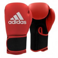 Перчатки боксерские Adidas Hybrid 25 (красно-черный, ADIH25)