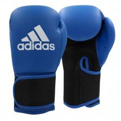 Перчатки боксерские Adidas Hybrid 25 (сине-черный, ADIH25)