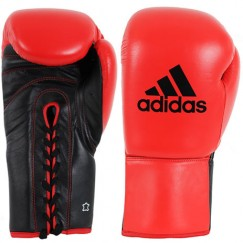 Боксерские перчатки Adidas Сombat (черно-красный, ADIBC04)