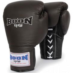 Профессиональные перчатки для бокса BOON Sport Leather Lace