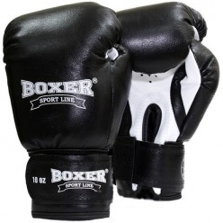 Боксерские перчатки Boxer (кожа)