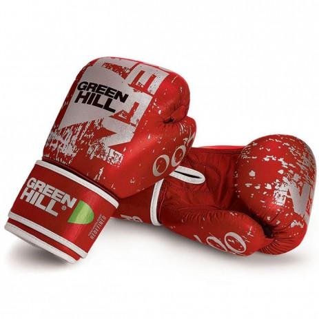 Боксерские перчатки Green Hill 007