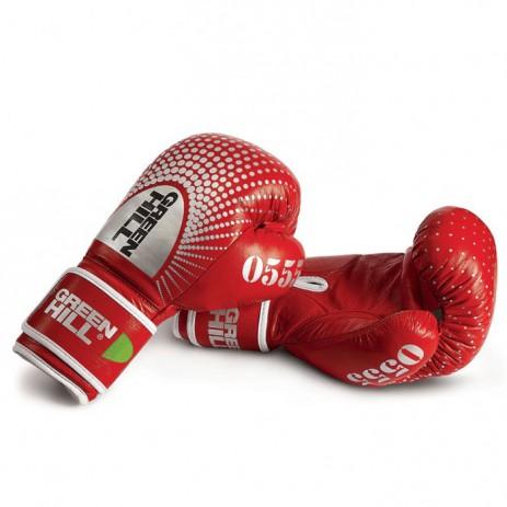 Боксерские перчатки Green Hill 0555