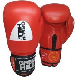 Боксерские перчатки Green Hill Knock с печатью ФБУ