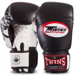Боксерские перчатки кожаные Twins Classic 0269
