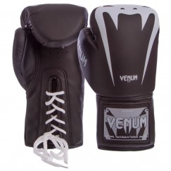 Боксерские перчатки на шнуровке Venum BO-8350