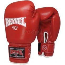 Боксерские перчатки Reyvel ФБУ без печати (кожа)