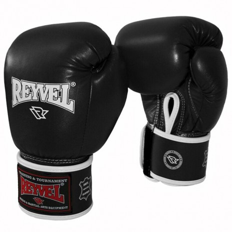 Боксерские перчатки Reyvel (кожа)