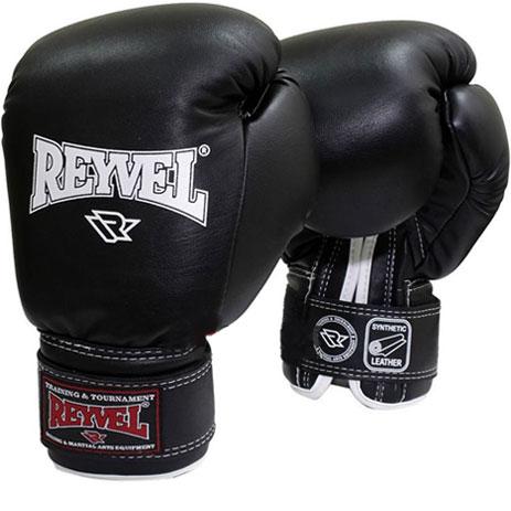 Боксерские перчатки Reyvel (винил)