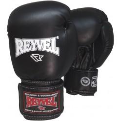 Боксерские перчатки Reyvel (винил) с широким манжетом