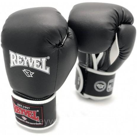 Боксерские перчатки Reyvel (винил Fortuna)