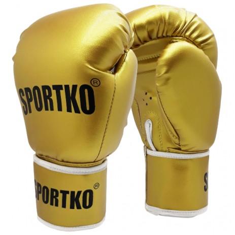 Боксерские перчатки SportKo ПД1 Gold