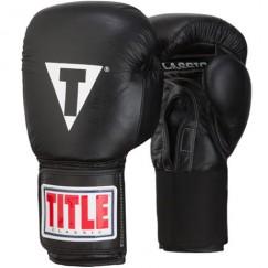 Боксерские перчатки Title Classic Leather Elastic 2.0