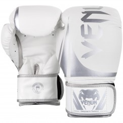 Боксерские перчатки Venum Challenger 2.0 White Silver