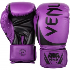 Боксерские перчатки Venum Challenger 2.0 Purple Black