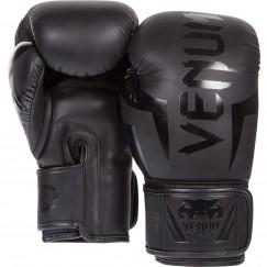 Боксерские перчатки Venum Elite Matte Black