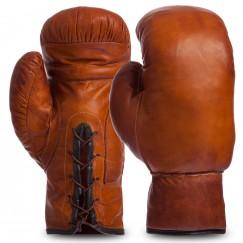 Боксерские перчатки кожаные Vintage F-0243