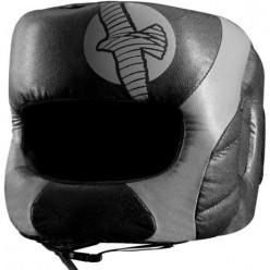 Боксерский шлем с бампером Hayabusa