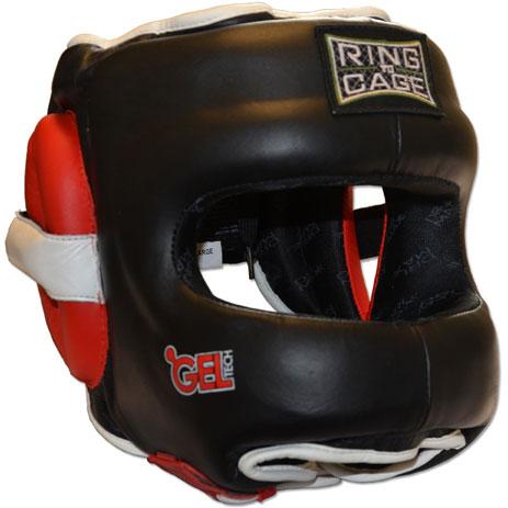 Боксерский шлем с бампером Ring to Cage Deluxe GelTech 2.0 RC50FSR2