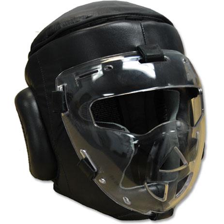 Боксерский шлем с маской Ring to Cage Safety Sheild