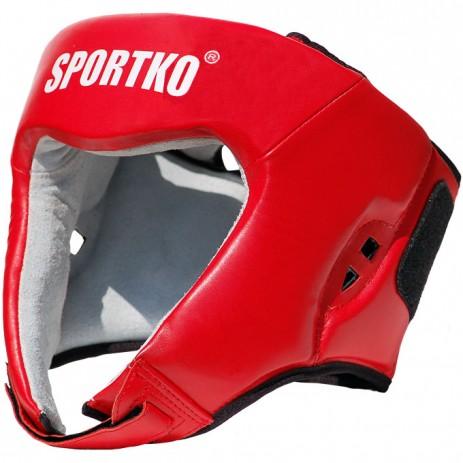 Боксерский шлем Sportko с печатью ФБУ