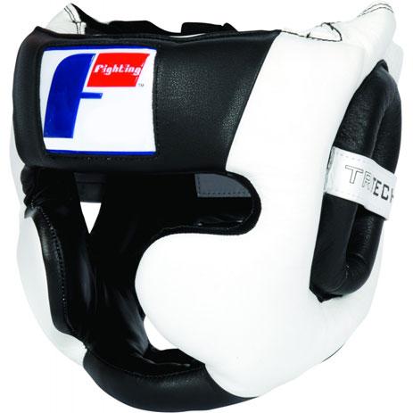 Боксерский шлем тренировочный Fighting Tri-Tech Full