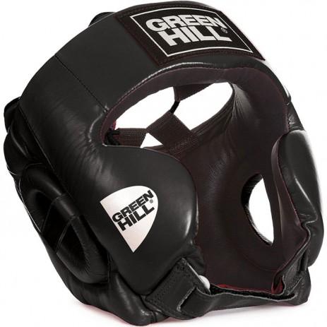 Боксерский шлем тренировочный Green Hill Club