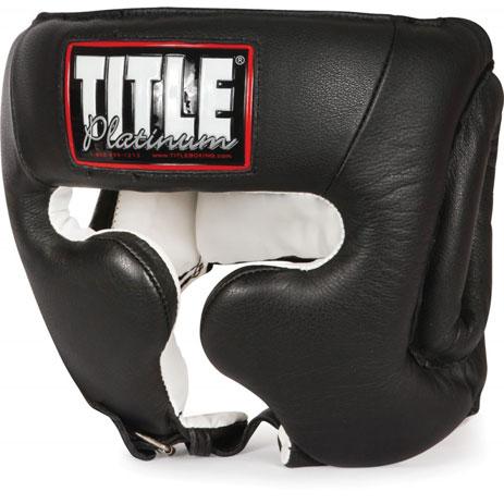 Боксерский шлем тренировочный Title Platinum
