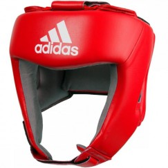 Боксерский шлем Adidas с лицензией AIBA (красный, AIBAH1)