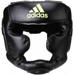 Боксерский шлем Adidas Speed Super Pro Training Extra Protect (черный/желтый, ADISBHG041)