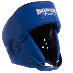 Боксерский шлем Boxer (кожвинил)