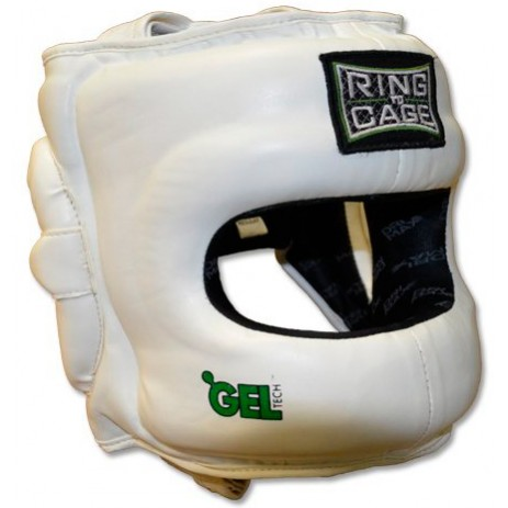 Боксерский шлем с бампером Ring to Cage Deluxe GelTech 2.0 RC50FSDX