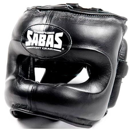 Боксерский шлем с бампером SABAS FaceSaver