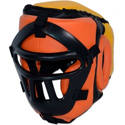 Боксерский шлем с сеткой Ring to Cage Mughals