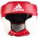 Боксерский шлем тренировочный Adidas Response Standart (красно-белый, ADIBHG023)