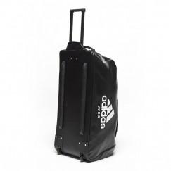 Дорожная сумка на колесах с белым логотипом Adidas Judo (ADIACC056J)