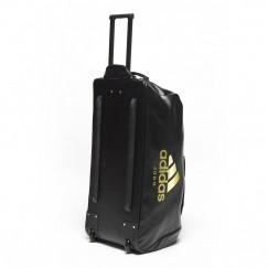 Дорожная сумка на колесах с золотым логотипом Adidas Judo (ADIACC056J)