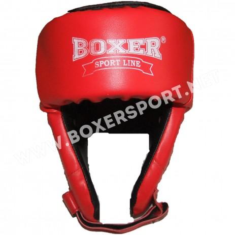 Боксерский шлем Boxer Elit (кожзам)