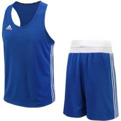 Форма для бокса Adidas Base Punch New (синий, ADIBTT02/ADIBTS02)