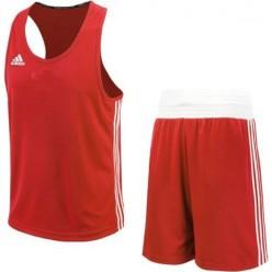 Форма для бокса Adidas Base Punch New (красный, ADIBTT02/ADIBTS02)