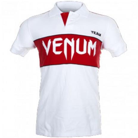 Футболка-поло Venum Team Polo (белый)