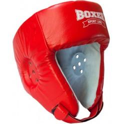 Боксерский шлем Boxer Элит (кожа)