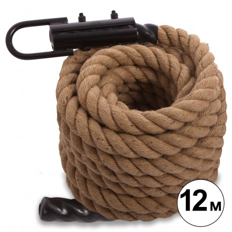Канат для кроссфита COMBAT BATTLE ROPE FI-0909-12 (l-12м,d-3,8см)