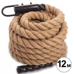 Канат для кроссфита COMBAT BATTLE ROPE FI-0910-12 (l-12м,d-5см)