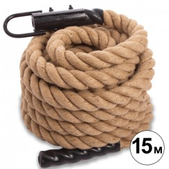 Канат для кроссфита COMBAT BATTLE ROPE FI-0910-15 (l-15м,d-5см)